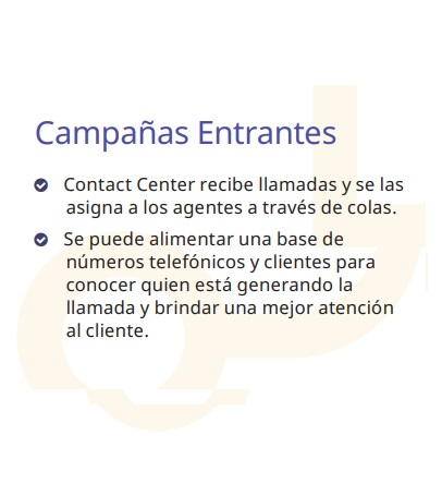 Campañas Entrantes Call Center